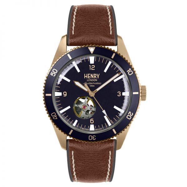 Đồng hồ nam Henry London HL42-AS-0334 AUTOMATIC SPORT