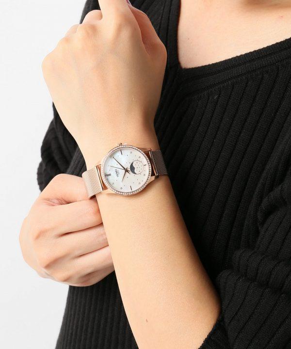 Đồng hồ nữ Henry London HL35-LM-0322 MOON PHASE