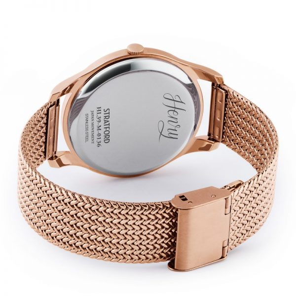 Đồng hồ Henry London HL39-M-0136 STRATFORD
