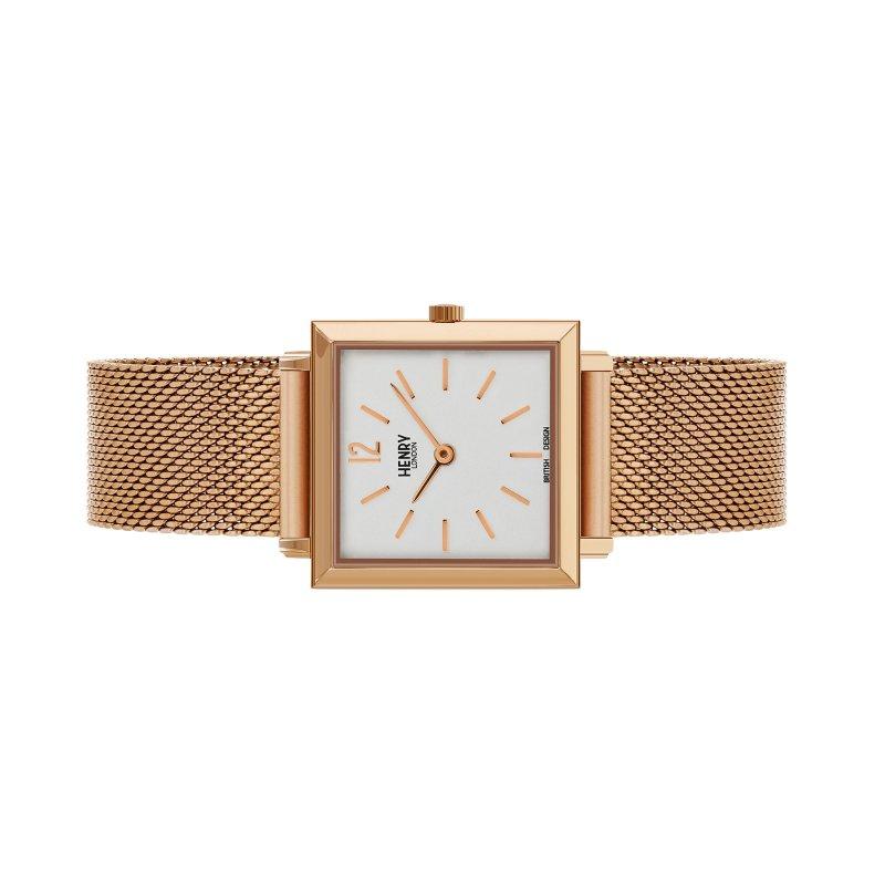 Đồng hồ nữ Henry London HL26-QM-0264 HERITAGE SQUARE