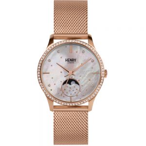 Đồng hồ nữ Henry London HL35-LM-0322 MOON PHASE